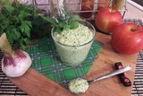 Сливочный чесночно-яблочный соус