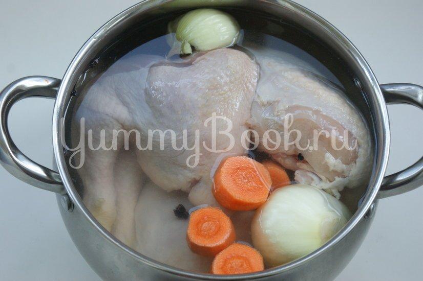 Куриный паштет с желатином - шаг 1