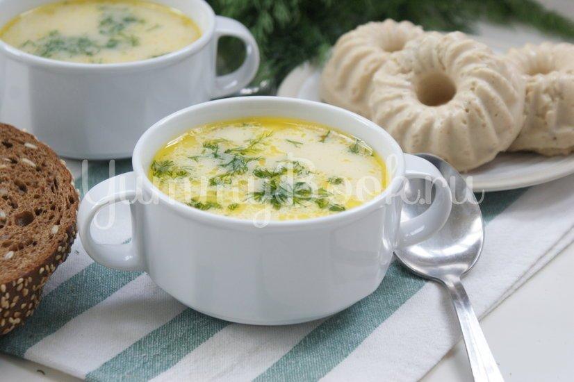 """Суп с плавленым сыром """"Янтарь"""" в мультиварке - шаг 6"""