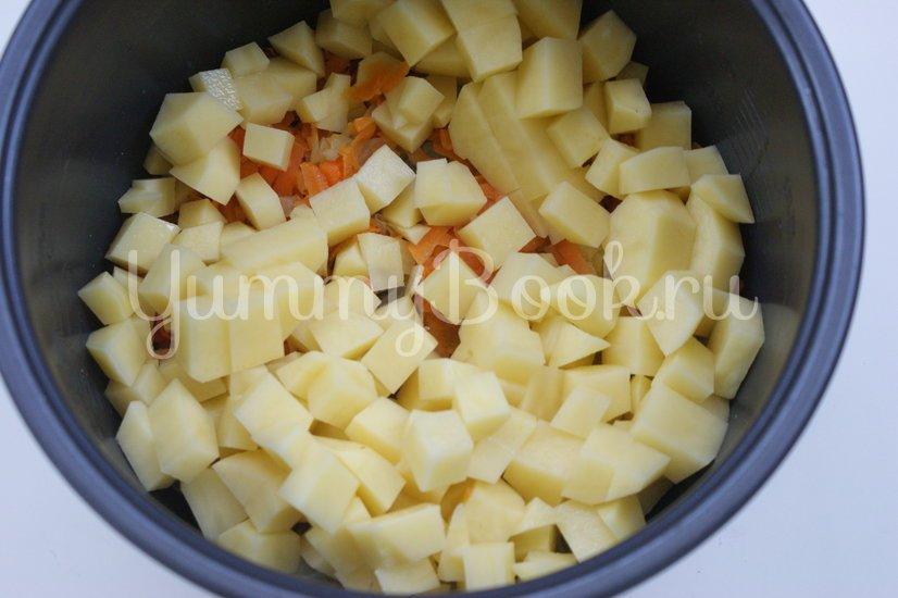 """Суп с плавленым сыром """"Янтарь"""" в мультиварке - шаг 2"""