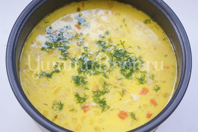 """Суп с плавленым сыром """"Янтарь"""" в мультиварке - шаг 5"""