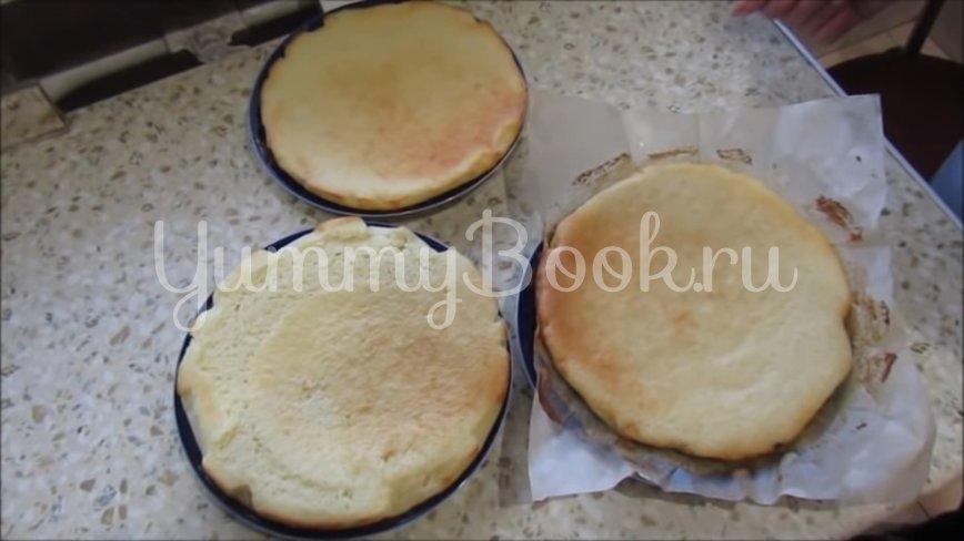 Медовик на кефире с цитрусовым кремом - шаг 4