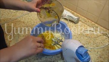 Медовик на кефире с цитрусовым кремом - шаг 6