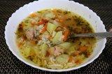 Суп из тунца