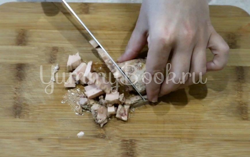 Салат с печенью трески - шаг 4