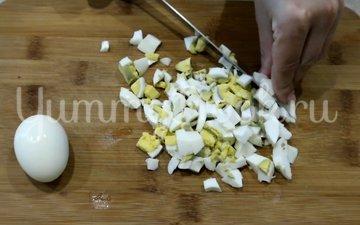 Салат с печенью трески - шаг 3