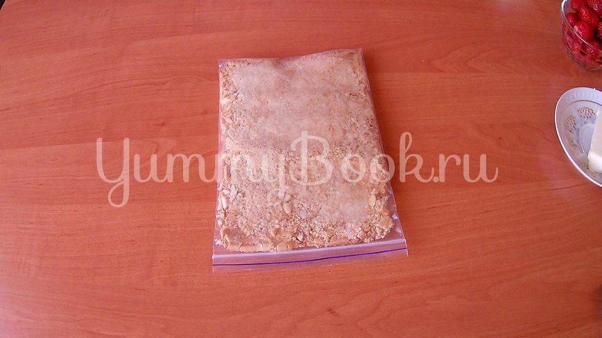 Печенье без выпечки со свежей клубникой - шаг 1