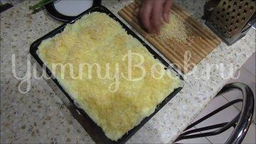 Картофельная запеканка с сосисками и грибами - шаг 6
