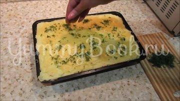 Картофельная запеканка с сосисками и грибами - шаг 7