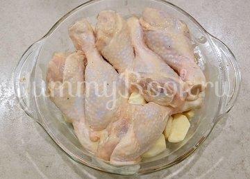 Сочная курица с картошкой в духовке - шаг 3