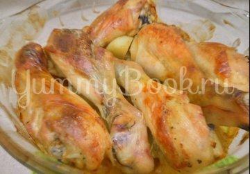 Сочная курица с картошкой в духовке - шаг 5