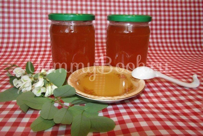 Варенье из цветков белой акации с лимоном (акациевый мёд) - шаг 6