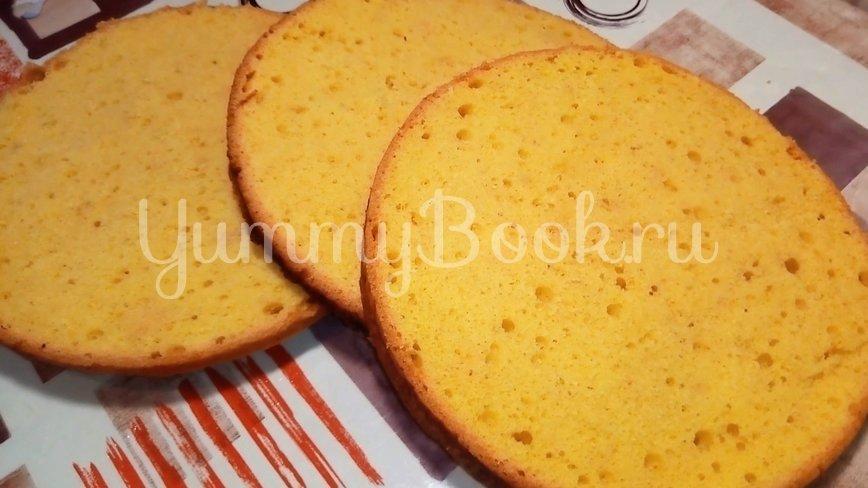 Торт клубничный с творожно - масляным кремом - шаг 6