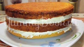 Торт клубничный с творожно - масляным кремом - шаг 8