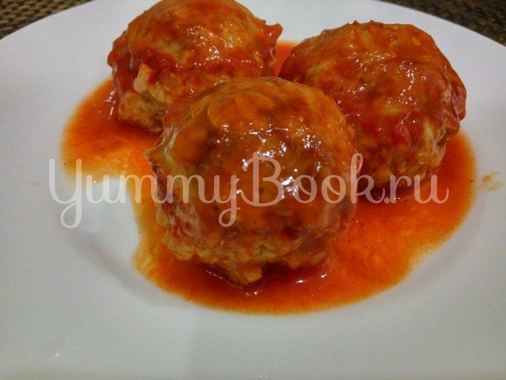 Тефтели с рисом в томатном соусе - шаг 5