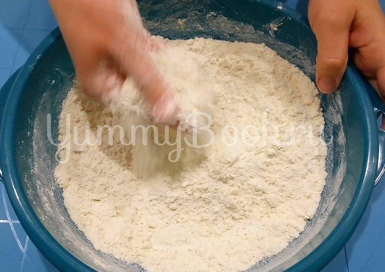 Сконы с сыром и колбасой - шаг 2
