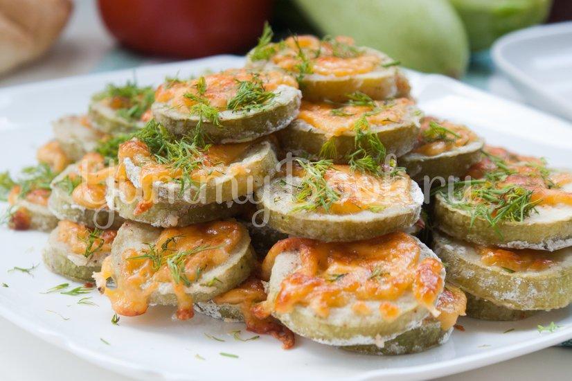 Кабачки с сыром запечённые в духовке - шаг 7