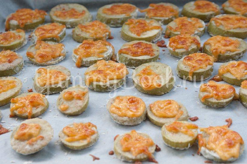 Кабачки с сыром запечённые в духовке - шаг 6