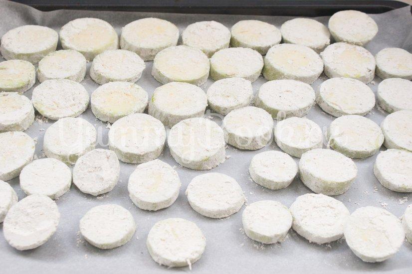 Кабачки с сыром запечённые в духовке - шаг 4