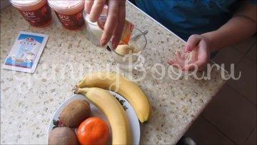 Сметанный десерт с фруктами  - шаг 2
