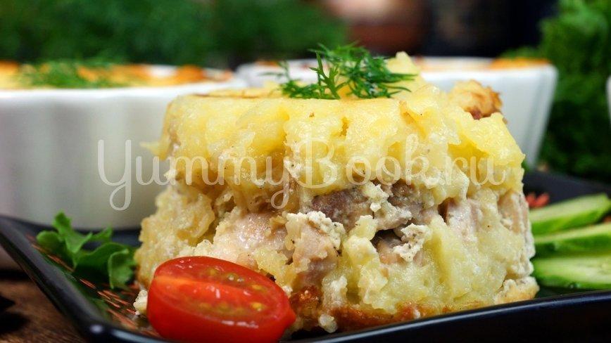 Куриное филе бедра с картофелем в соусе - шаг 15
