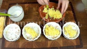 Куриное филе бедра с картофелем в соусе - шаг 11