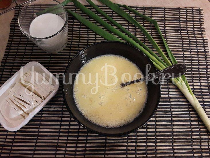 Сливочный омлет с фетой - шаг 2