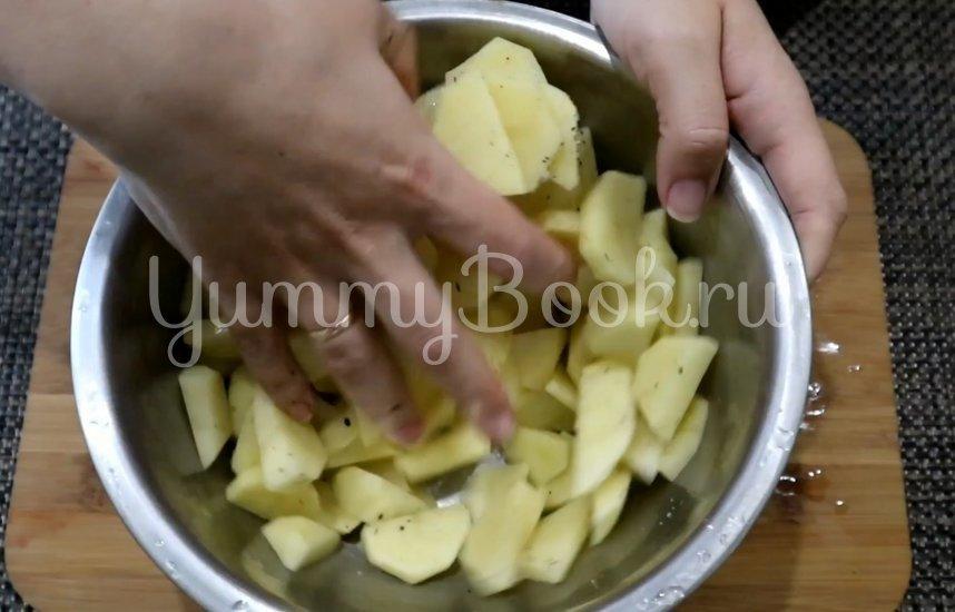 Овощная запеканка с курицей в духовке - шаг 5