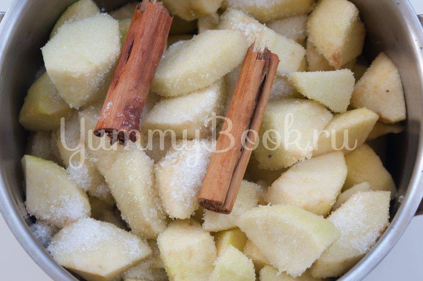 Холодный яблочный суп - шаг 1