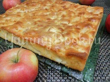 Мега яблочный пирог на кефире - шаг 5