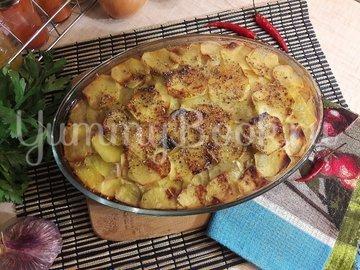 Картофельно-куриная запеканка с черносливом - шаг 13