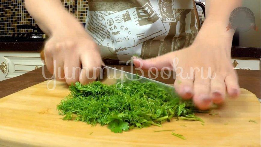 Слоеная Картофельная запеканка с ветчиной и сыром - шаг 5