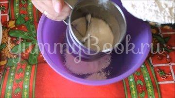 Домашнее печенье на сметане с вишней - шаг 3