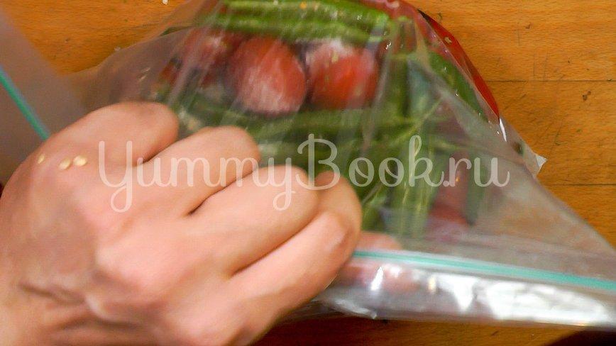 Бочковые помидоры в пакете - шаг 8