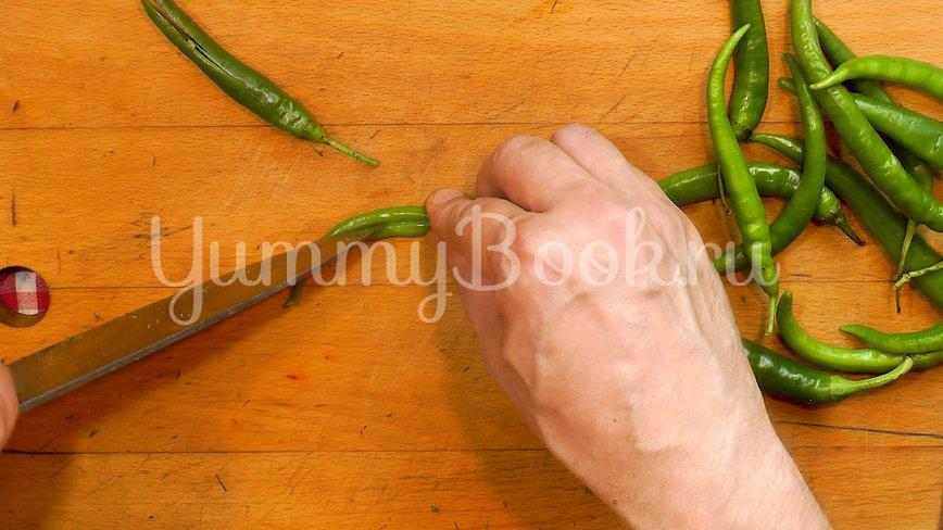 Бочковые помидоры в пакете - шаг 3