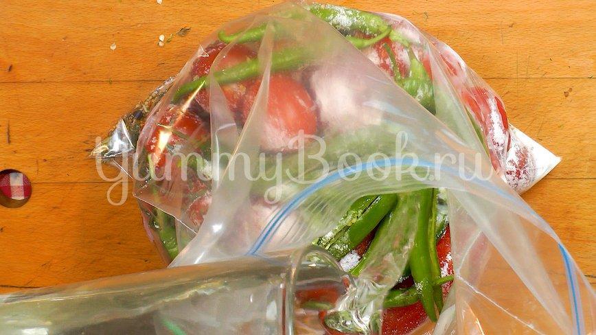 Бочковые помидоры в пакете - шаг 7