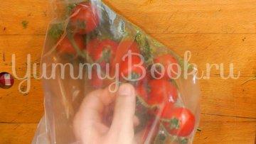 Бочковые помидоры в пакете - шаг 2
