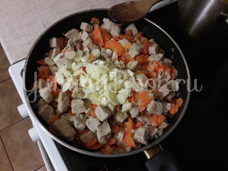 Овощное рагу со свининой - шаг 6
