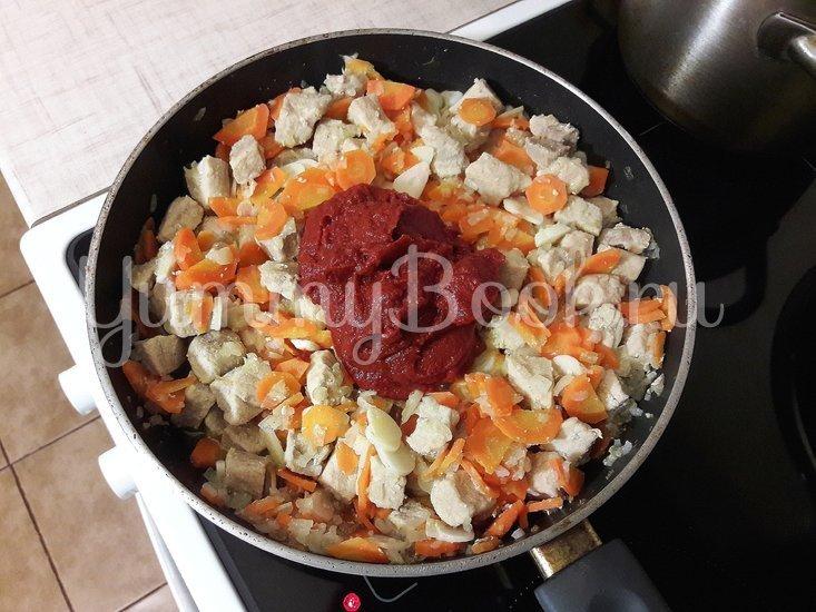 Овощное рагу со свининой - шаг 7
