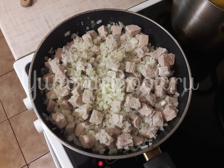 Овощное рагу со свининой - шаг 4