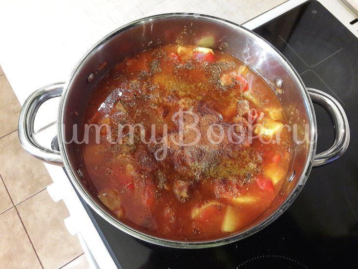 Овощное рагу со свининой - шаг 10
