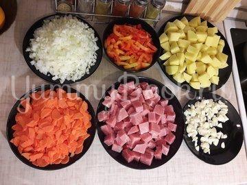 Овощное рагу со свининой - шаг 2
