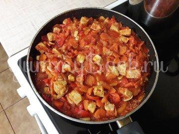 Овощное рагу со свининой - шаг 9