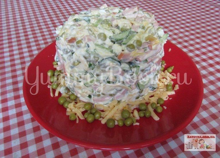Салат на скорую руку - шаг 3