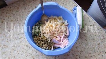 Салат на скорую руку - шаг 2