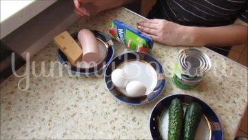 Салат на скорую руку - шаг 1