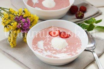 Холодный клубничный суп - шаг 8