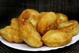 Пончики из творога на сковороде