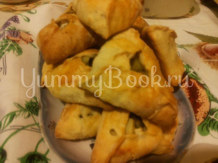 Пирожки в духовке, бездрожжевые - шаг 5