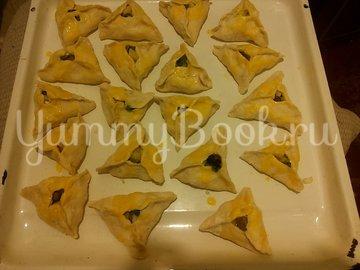 Пирожки в духовке, бездрожжевые - шаг 4